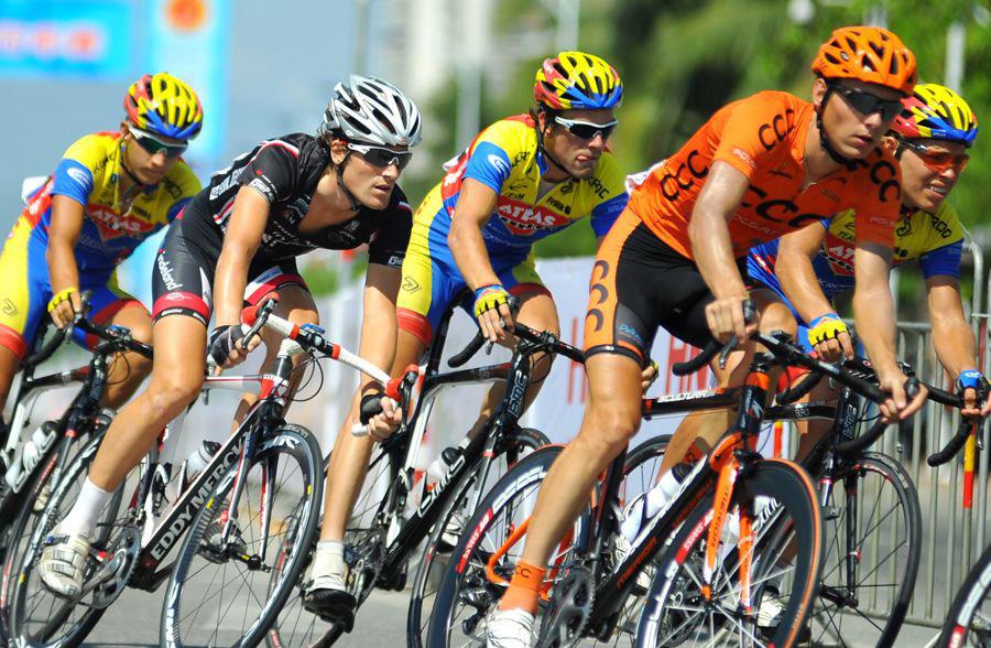 环岛自行车比赛